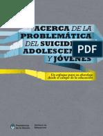 Acerca de La Problemática Del Suicidio de Adolescentes y Jovenes