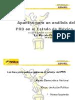Analisis Prd Posterior a Las Elecciones