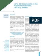 Ingeniería Del Desempeño en Las Organizaciones Sensibles, Coherentes y Lucidas