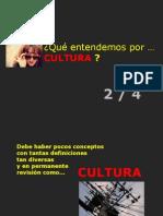 Qué Entendemos por Cultura 2/4