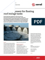 Foam Floating Roof Tank Systems