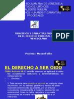 GARANTIAS PROCESALES DDHH  Y PRNCIPIOS DE ORALIDAD