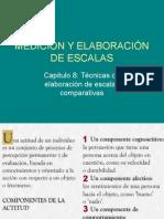 Medición y Elaboración de Escalas2011