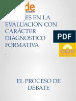 Evaluacion Diagnostica Formatva- Agosto 28 y 29 2015