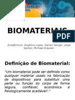 Apresentação Biomateriais