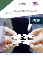 Job Design and Performance Toolkit