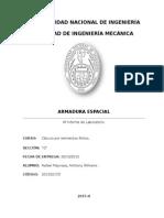 4° Informe - Armadura Espacial