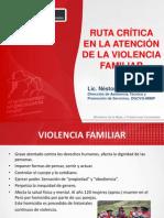 VIOLENCIA FAMILAR Y PNP