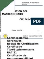 Clase Certificacion de Aeronaves GMA Ciclo 2-2015. Pptx
