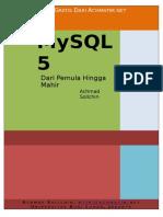 MySQL Dari Pemula Hingga Mahir