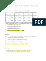 Evaluacion de  Proyectos Parcial 1