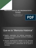 Memoria Histórica Del Desplazamiento Forzado-2