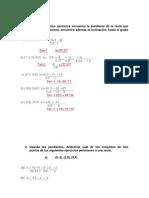 ejercicios geometria analitica