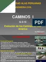 Evolución de Los Caminos-G3 15-2