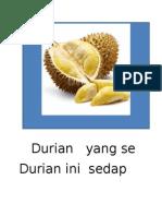 Durian Yang Segar