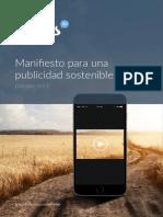Manifesto for Sustainable Advertising