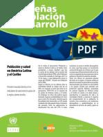 Características de la situación epidemiológica en américa latina y el caribe