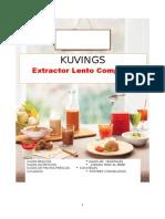 Libro Recetas Kuvings