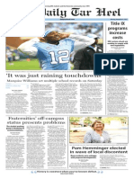 The Daily Tar Heel for Nov. 9, 2015