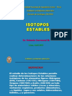 Isotopos Estables