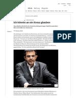 Navid Kermani - Ich könnte an ein Kreuz glauben - Politik - Süddeutsche.de