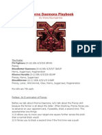 k Horne Daemons Guide