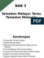 Bab 3 Tamadun Melayu