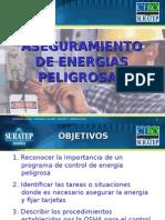 Aseguramiento de Energias Peligrosas