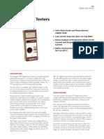 Megger-LT7-datasheet