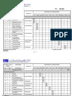 Internal Audit Schedule Annual