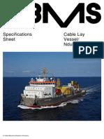 Spesifikasi Kapal 7500 DWT