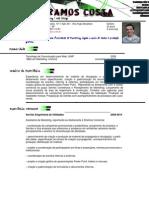 Curriculum Vitae Eduardo Ramos Costa