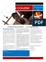 Weekly Newsletter 6.11.2015