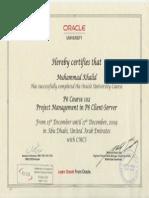 P6 - 102 - Oracle