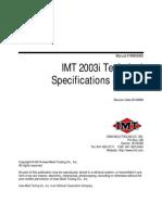 Imt 2003i Parts Service