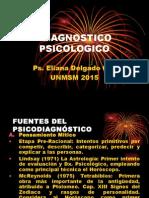Fuentes Del Psicodiagnóstico