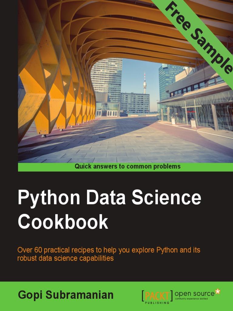 Python Data Science Cookbook - Sample Chapter | Cluster