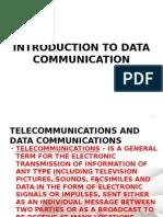 Introduction to Data Communication (Basic Networking)