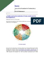 Web 20 Herramientas Mas Usada Por Los Investigadores 2015
