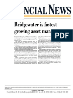 Bridgewater is fastest growing asset manager