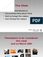 Documentary about China ppt