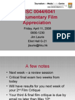 Chinese Independent Documentary Films ppt