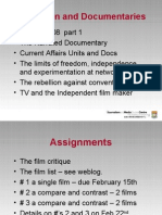 Television and Documentaries ppt