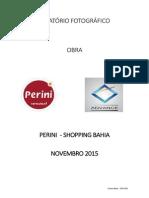 Relatório Fotográfico Perini