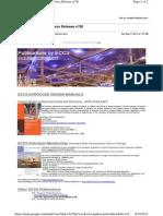 ECCS Publications