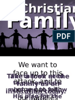 CFC CLP Talk 7 - The Christian Family.pps