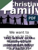 CFC CLP Talk 7 - The Christian Family.pps
