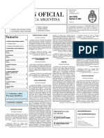 Boletin Oficial 23-03-10 - Segunda Seccion