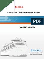 Caledonian Câbles Offshore & Marine NORME NEK606 RFOU_TFOU