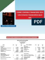2014 - A1 - Cierre Contable